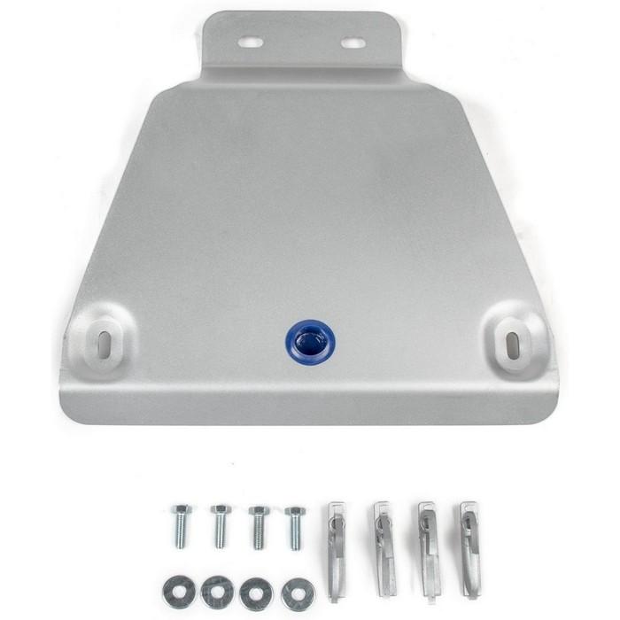 Защита редуктора Rival для Ford Kuga (V - 1.5T;1.6T; 2.0D) 2013-2016/Ford Kuga (V - 1.5T;1.6T; 2.0D) 2016-н.в., алюминий 4 мм, с крепежом, 333.1869.1