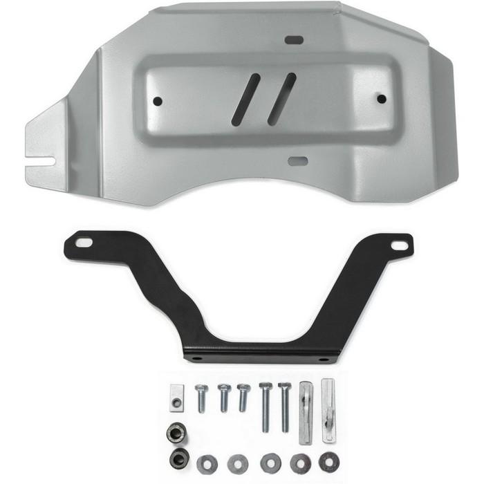 Защита редуктора Rival для Nissan Qashqai (V - 2.0 / 4WD) 2014-, крепеж в комплекте, алюминий 4 мм