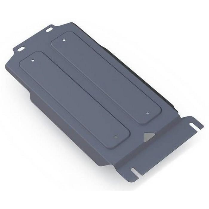 Защита КПП Rival для Infiniti QX56 (V - 5.6) 2010-2013, крепеж в комплекте, алюминий 4 мм