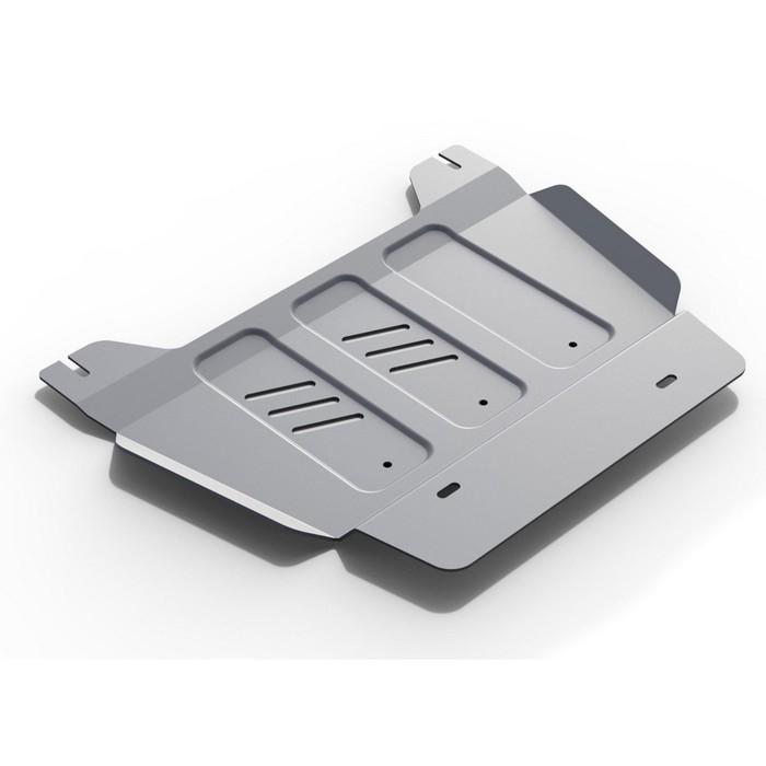 Защита РК Rival для Chevrolet Tahoe (V - 6.2) 2014-, крепеж в комплекте, алюминий 4 мм