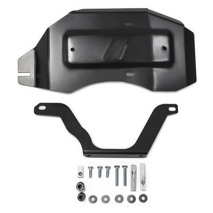 Защита редуктора Rival для Nissan Qashqai J11 (V - 2.0) 4WD 2014-2019 2019-н.в., сталь 2 мм, с крепежом, 111.4150.1
