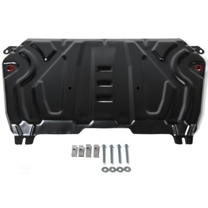 Защита картера и КПП АвтоБРОНЯ Big Toyota Camry XV70 (V - 2.0; 2.5; 3.5) 2018-, ST 2 мм, 111.09518.2