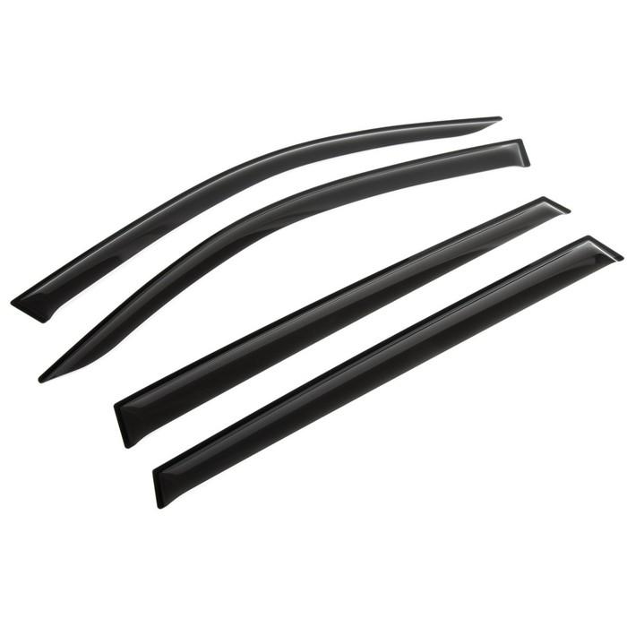 Ветровики Rival Premium для Skoda Kodiaq 5-дв. 2017-н.в., оргстекло, 4 шт., 35105001