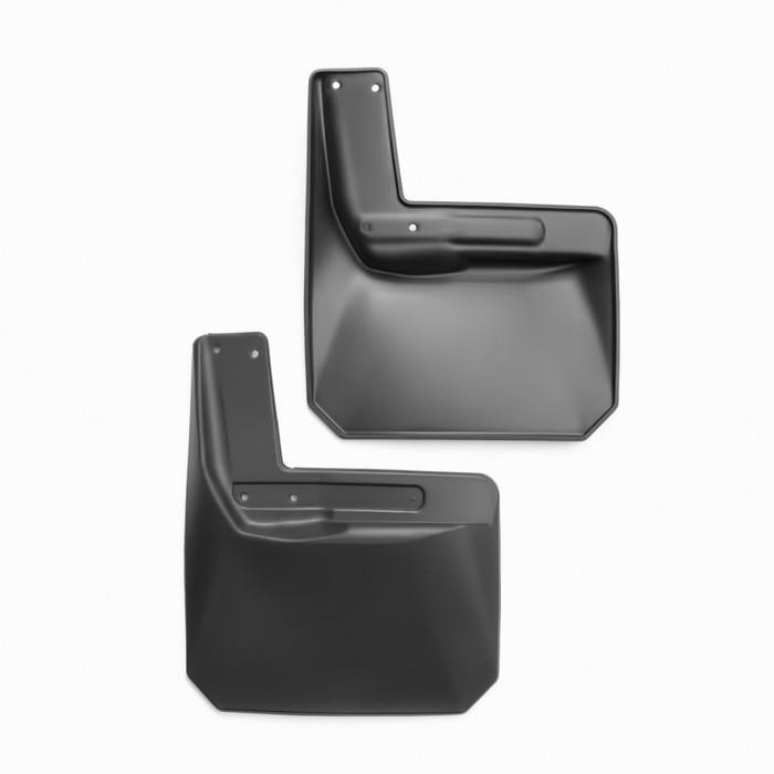 Брызговики задние JEEP Wrangler 2, 4 doors, 2007-2016, 2 шт, (полиуретан)