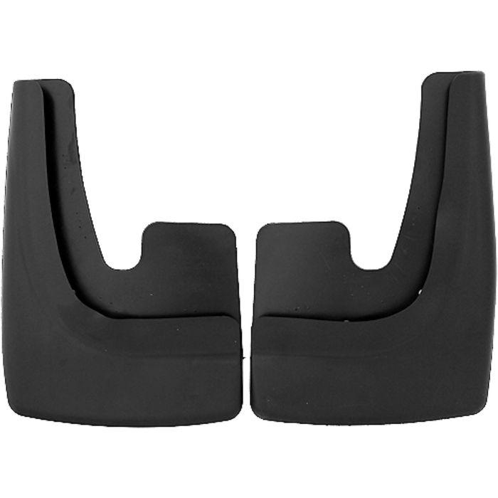 Брызговики универсальные, большие 24,5х35,5 см, 2 шт, чёрный