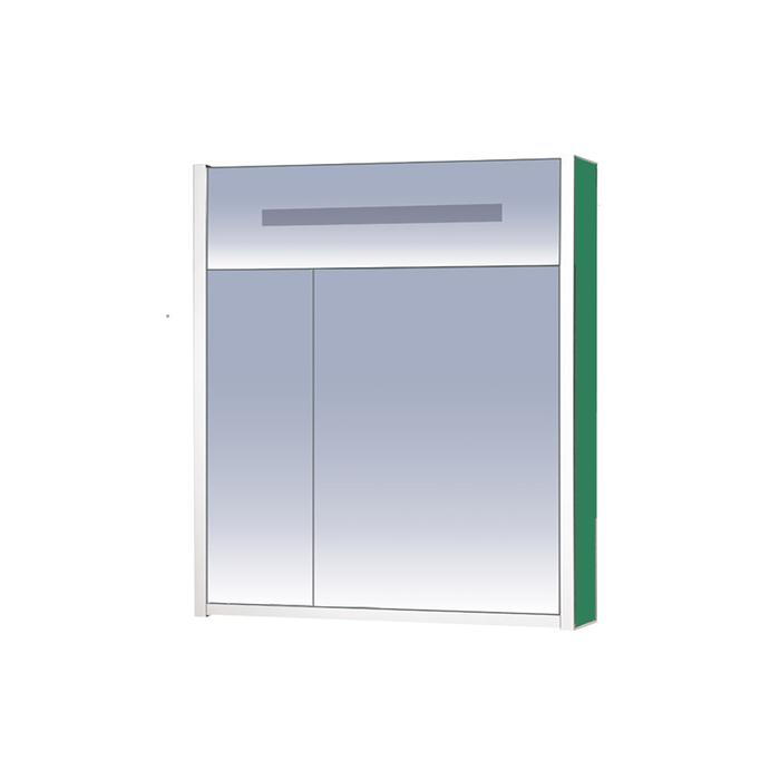 Шкаф-зеркало Джулия - 75 зеленый