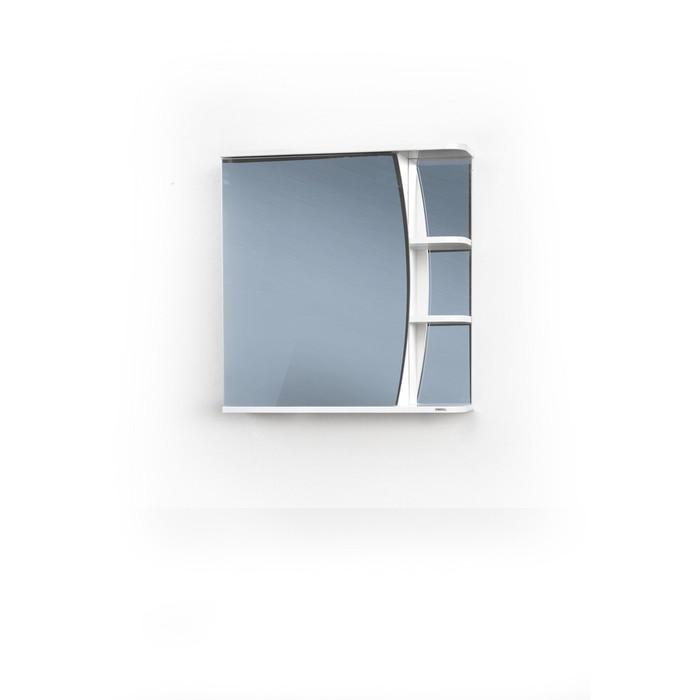 Шкаф-зеркало Поло правый 55