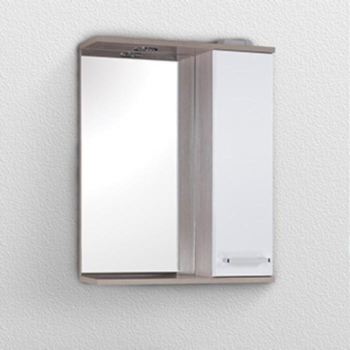 Зеркало-шкаф STELLA Сеул 58 см. со светом левое