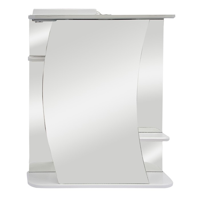 "Зеркало-шкаф ""Линда, светильник"" 55 левое"