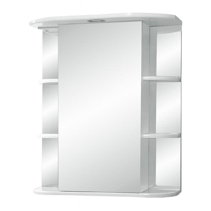 "Зеркало-шкаф ""Герда, светильник"" 550  фацет правое"