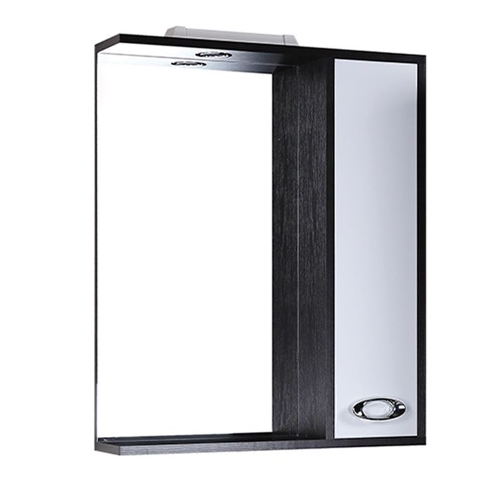Шкаф-зеркало Джакарта 75 см. с подсветкой