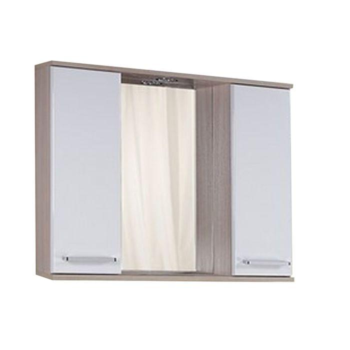 Шкаф-Зеркало Сеул 75 см. с подсветкой