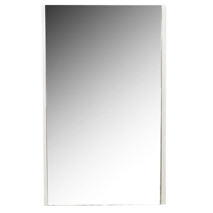 Зеркало-шкаф «Верди 50», цвет белый ясень фабрик
