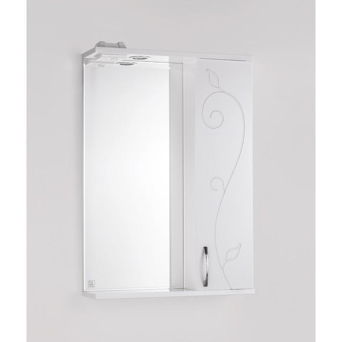 Зеркало-шкаф Панда 55/С, Фьюжн