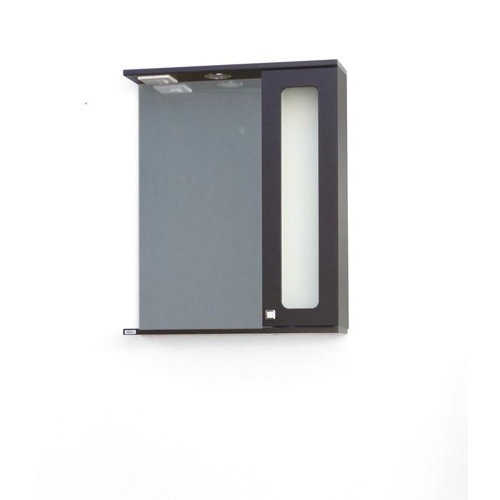 Шкаф-зеркало  Киото 60 (венге) правый