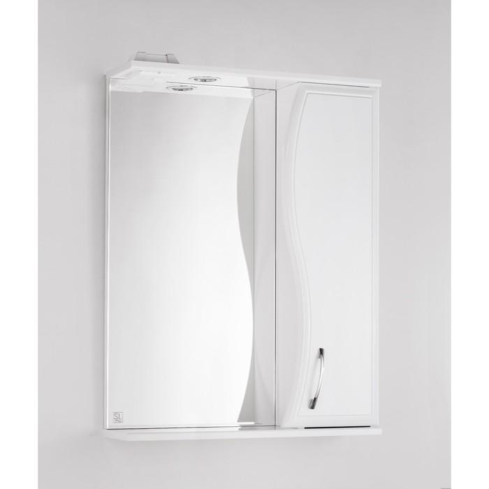 Зеркало-шкаф Панда 60/С, Волна