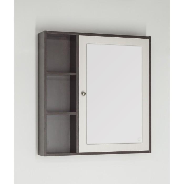 Зеркало-шкаф Кантри 75, Венге