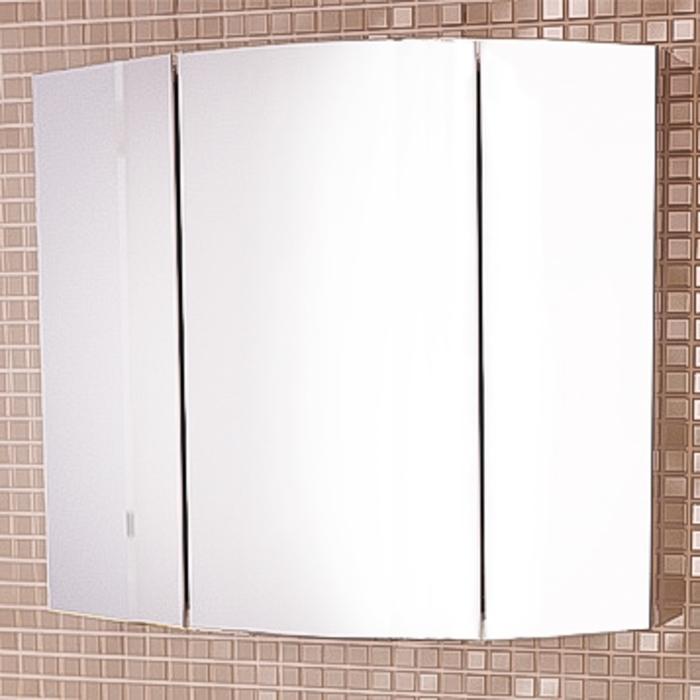 "Зеркало-шкаф ""Лаура-75-3"" белый"