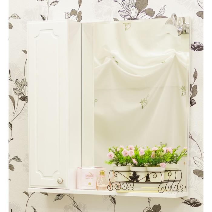Шкаф-зеркало Ксения 70, левый