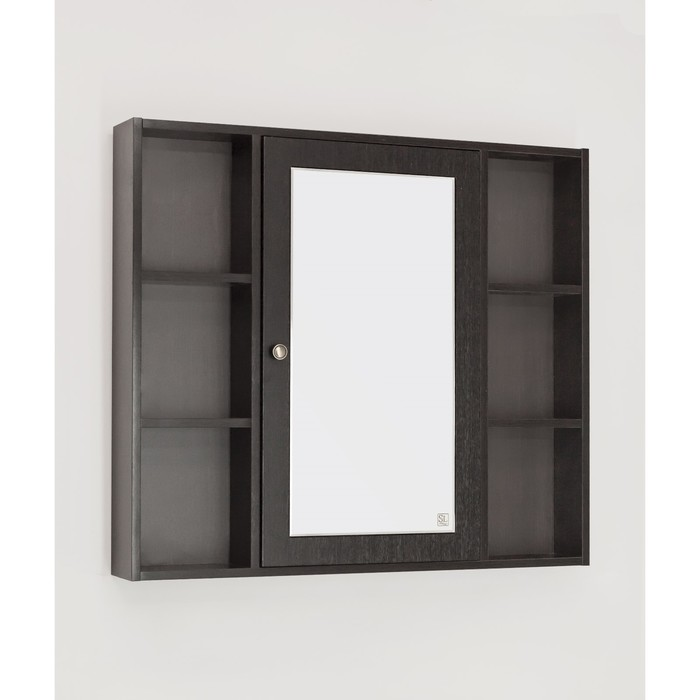 Зеркало-шкаф Кантри 90, Венге