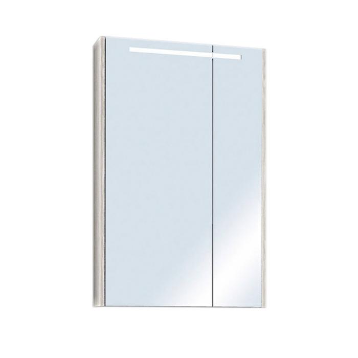 Зеркало-шкаф «Верди 60», цвет белый ясень фабрик