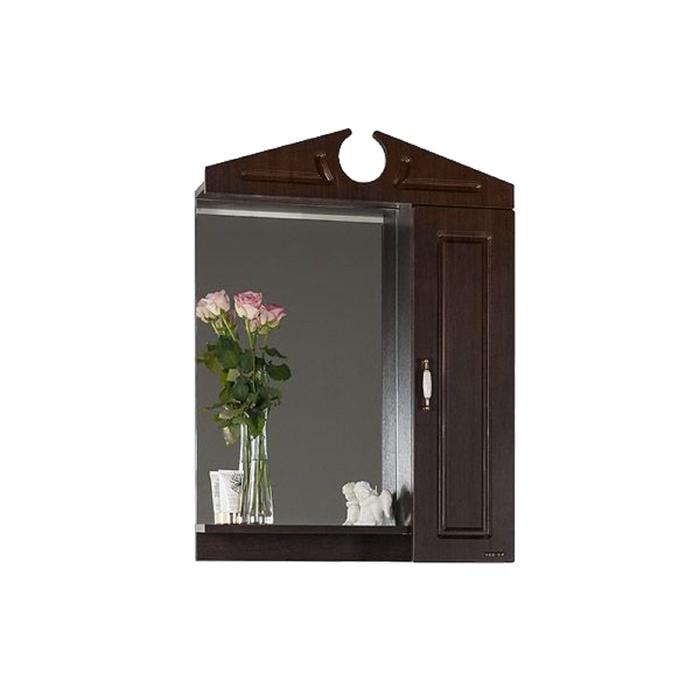 Шкаф-Зеркало Капри 65 см Венге, правое