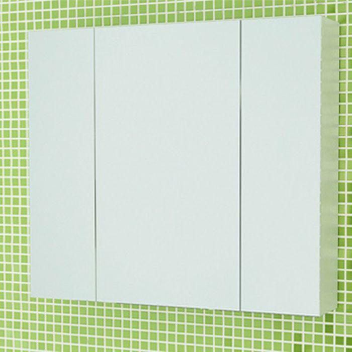 """Зеркало-шкаф для ванной """"Римини-80"""" 70 х 80 х 15 см, белый"""