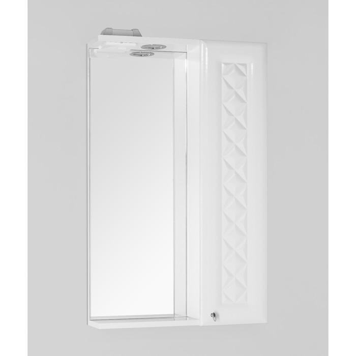 Зеркало-шкаф Канна 50/С, Люкс