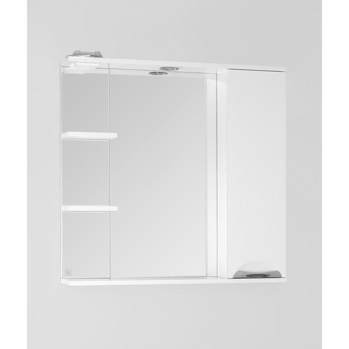 Зеркало-шкаф Жасмин 80/С