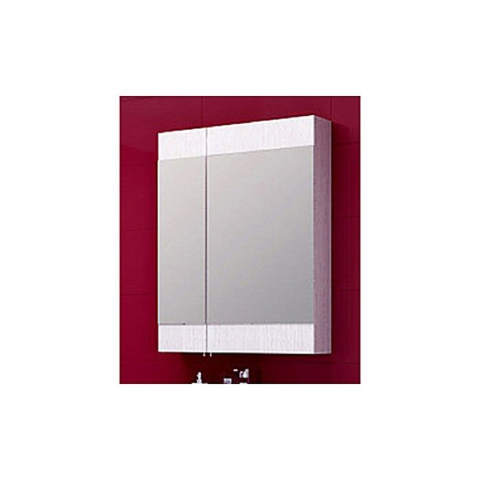 Зеркало-шкаф Aqwella Brig, дуб седой Br.04.06/Gray