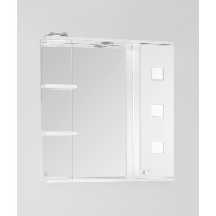 Зеркало-шкаф Крокус 75/С