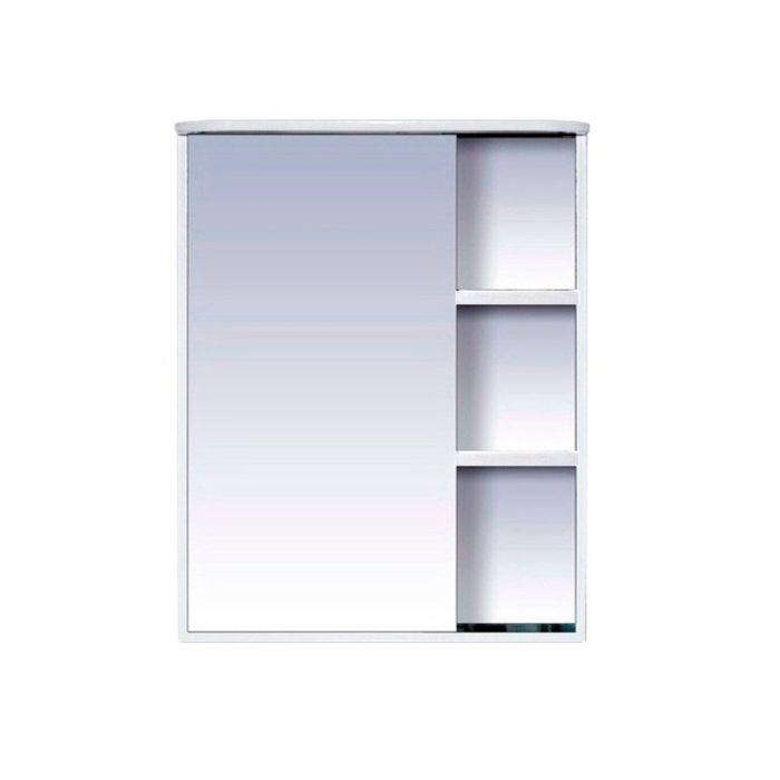 """Шкаф-зеркало Misty """"Венера 70"""", левый, комбинированный, с подсветкой"""