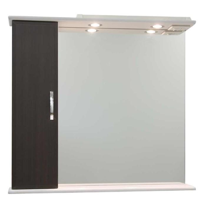 Шкаф-зеркало Колумбия 95 см Венге