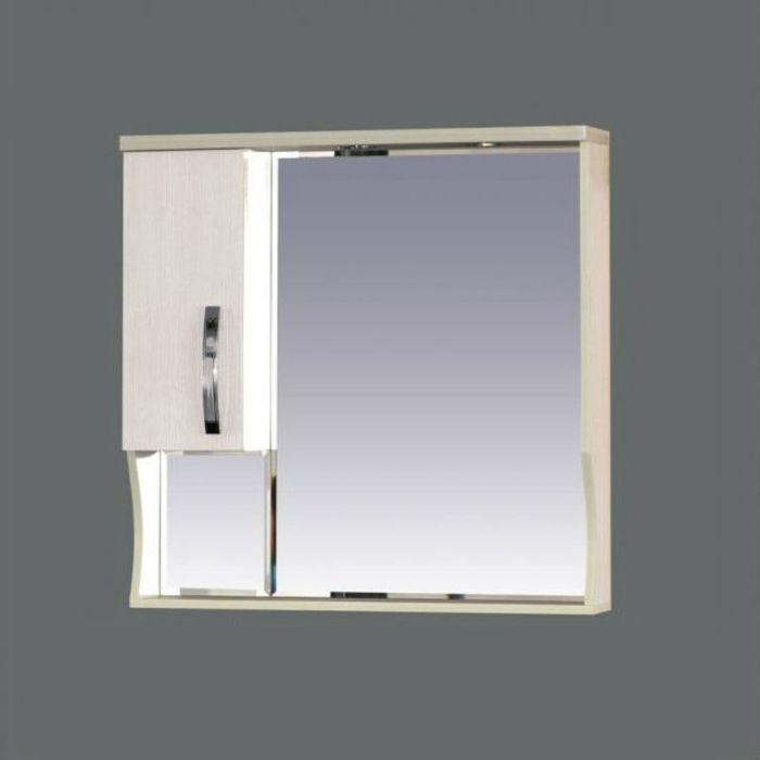 "Шкаф-зеркало Misty ""Модерн 80"", левый, с подсветкой"