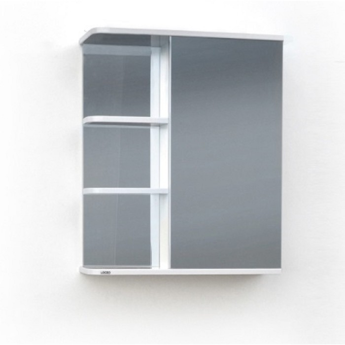 Шкаф-зеркало Версаль (Экко) Левый 50