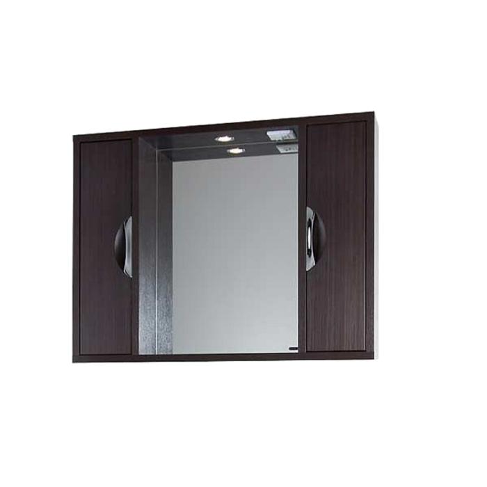 Шкаф-зеркало Габи 100 см Венге