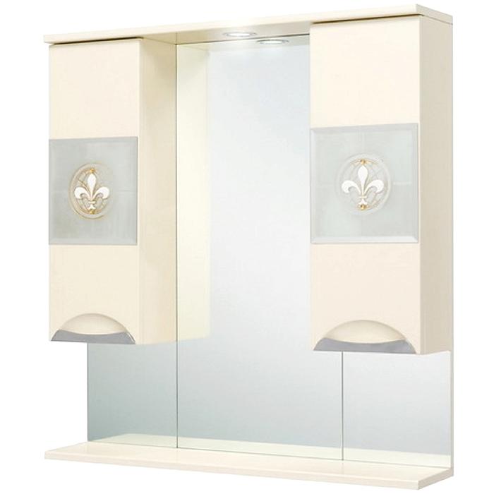 Зеркало-шкаф Onika Флорена 78.01, Кремовый