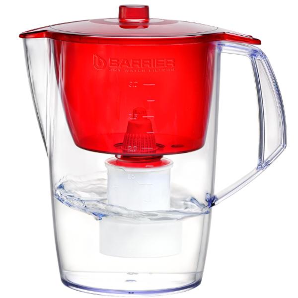 Фильтр-кувшин для воды Барьер Лайт красный
