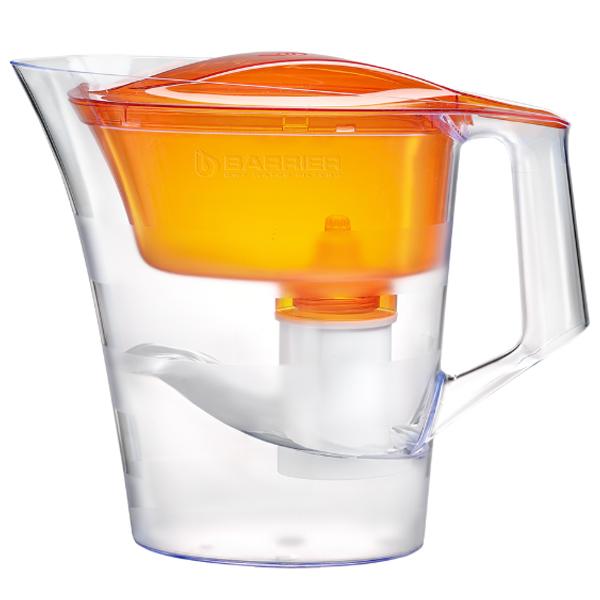 Фильтр-кувшин для воды Барьер Твист оранжевый