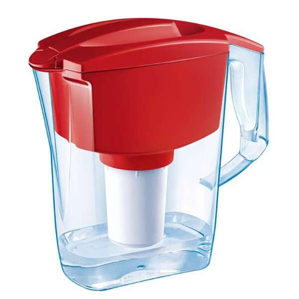 Фильтр для воды Аквафор Кувшин Гарри красный