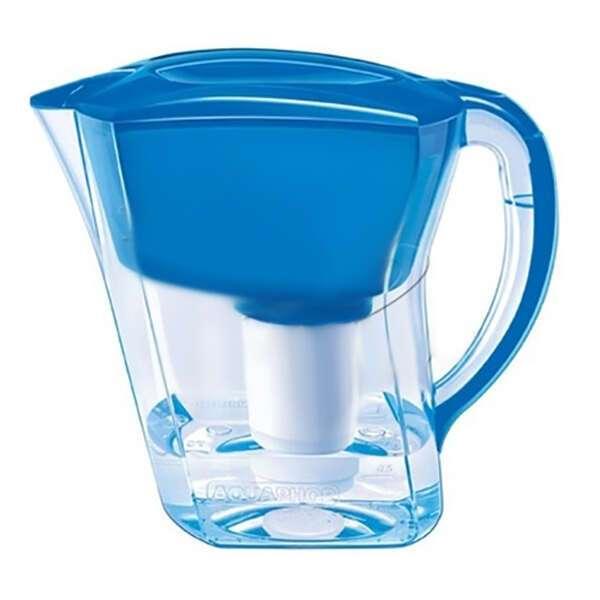 Водоочиститель Аквафор (синий) Кувшин Гратис