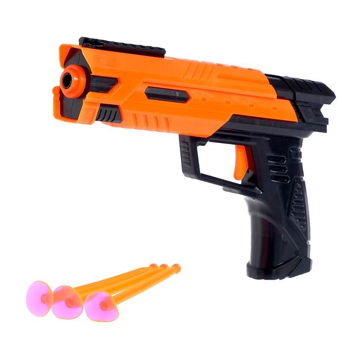 Пистолет «Вектор», стреляет присосками