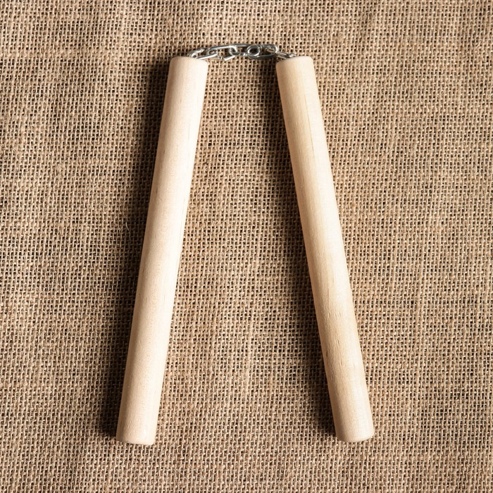"""Сувенир деревянный """"Нунчаки"""", 20 см, массив бука"""