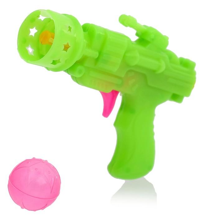 Пистолет «Звёздный», стреляет шариком, цвета МИКС
