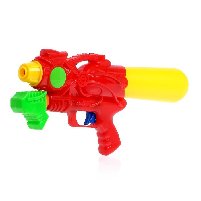 Водный пистолет «Истребитель», с накачкой