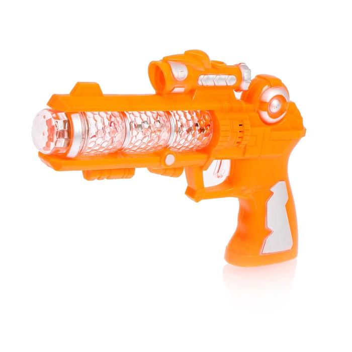 Пистолет «Карнавал», световые и звуковые эффекты