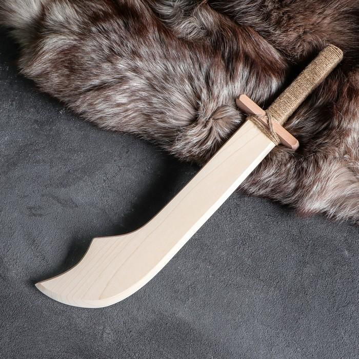 """Сувенир деревянный """"Мачете"""", 40 см, массив бука"""