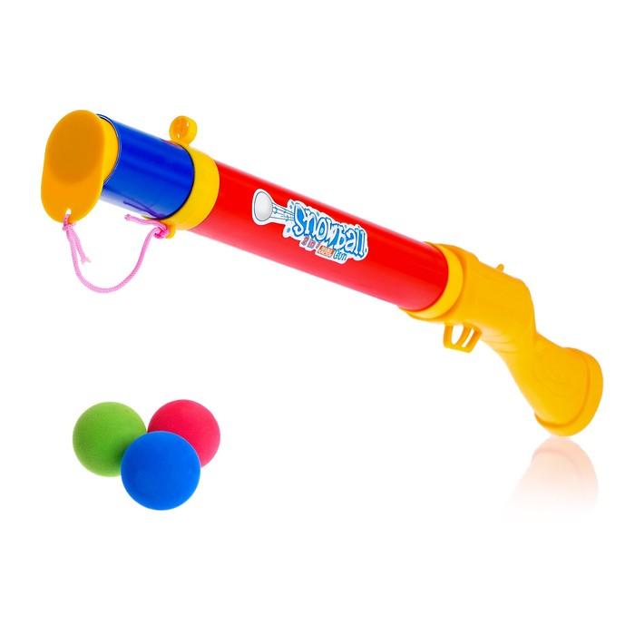 Ружьё «Охотник», стреляет мягкими шариками, цвета МИКС