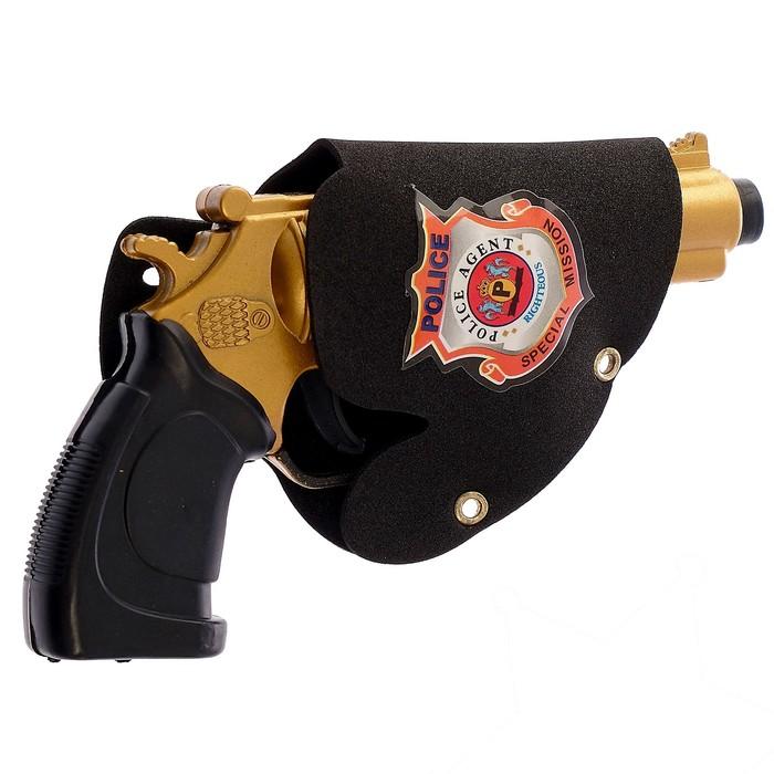 """Набор полицейского """"Шериф"""", 4 предмета"""
