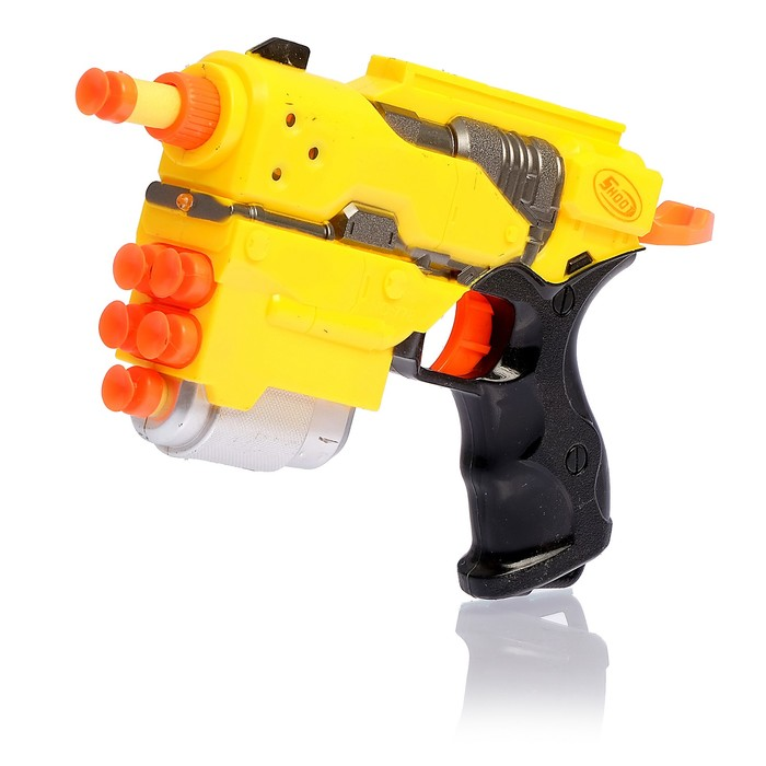 Пистолет «Штурм» стреляет мягкими пулями, цвета МИКС